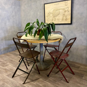 Reclaimed dining set