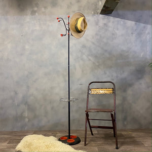 Retro Atomic Coat Hat Umbrella Stand