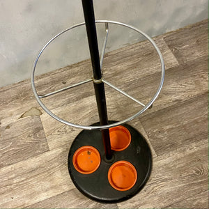 Atomic hat umbrella stand