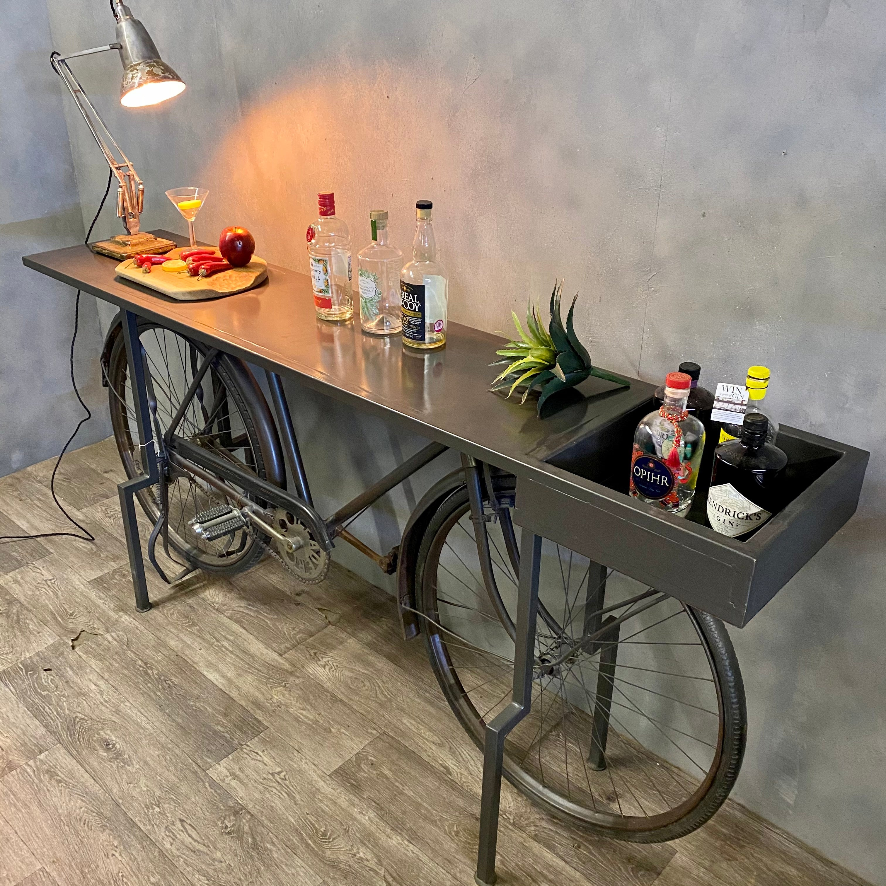 Vintage style home bar