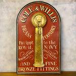 Load image into Gallery viewer, Vintage Hand Painted Sign Collectables