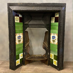 Load image into Gallery viewer, Victorian Fireplace Decorative Tiled