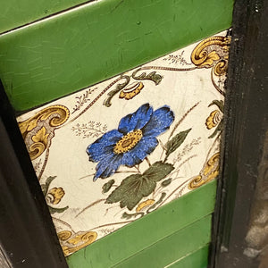 Victorian Fireplace Decorative Tiled