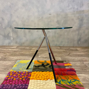 1970s glass table