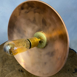 Copper vintage lamp