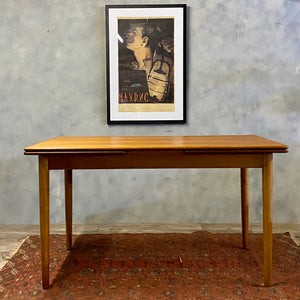 Danish Dining Table Teak