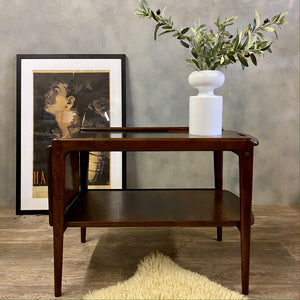 Danish Extendable Coffee Table Bar Cart