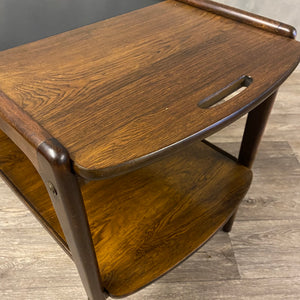 Rosewood extendable coffee table