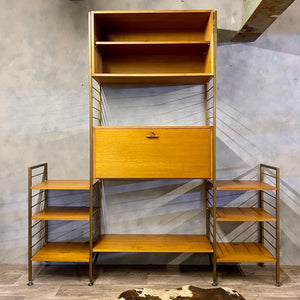 Ladderax 1960s shelving system