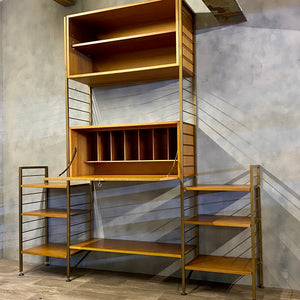 Shelving wall system