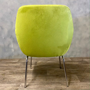 Lime green chair