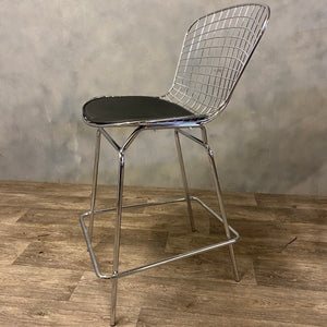 Wire bertoia stool