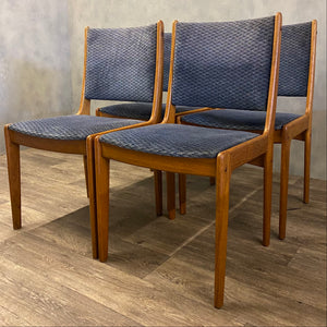Danish Dining Chairs Johannes Anderson