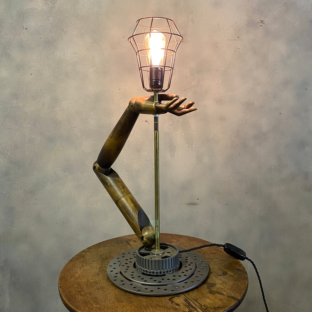 Industrial Desk Lamp Mannequin