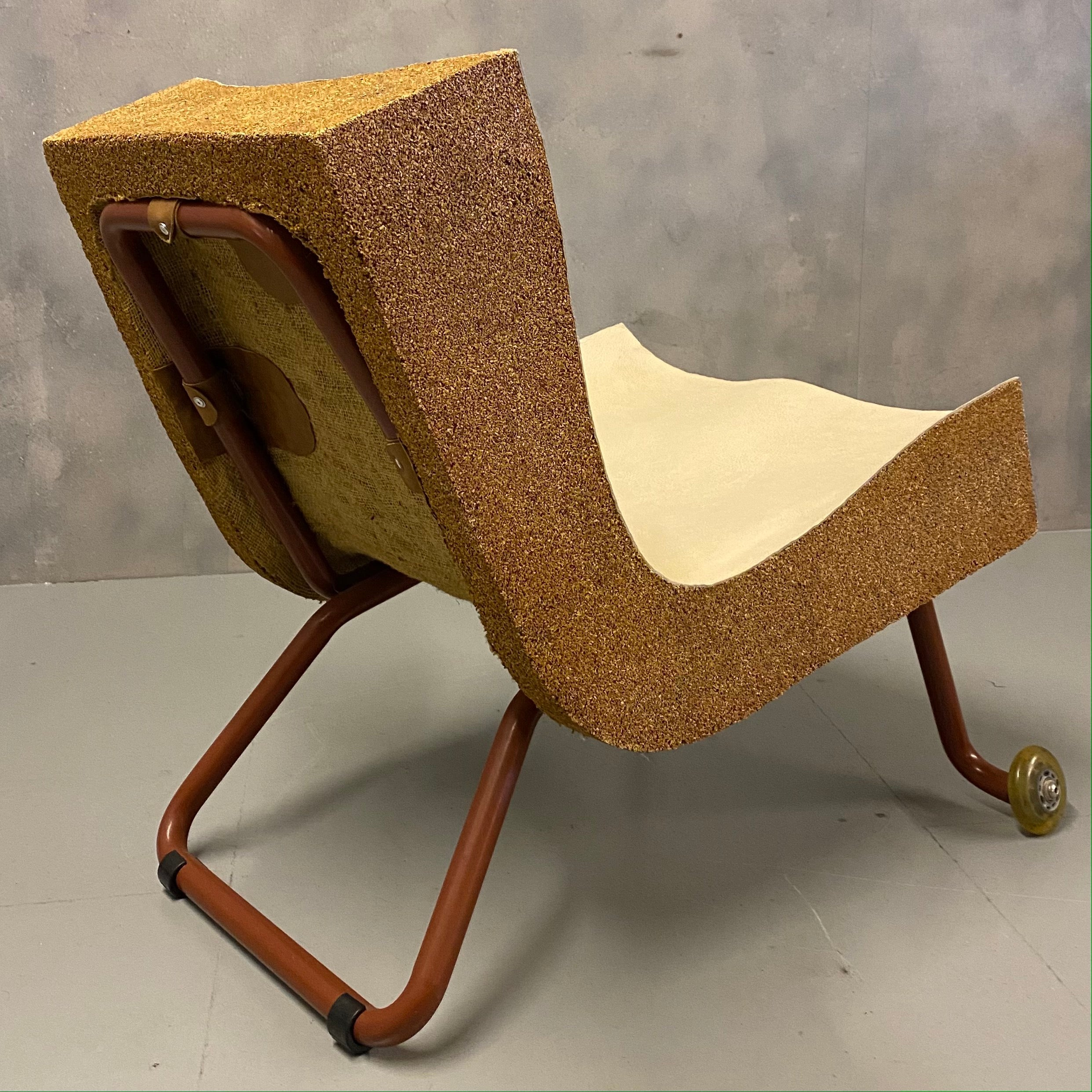 Statement midcentury chair
