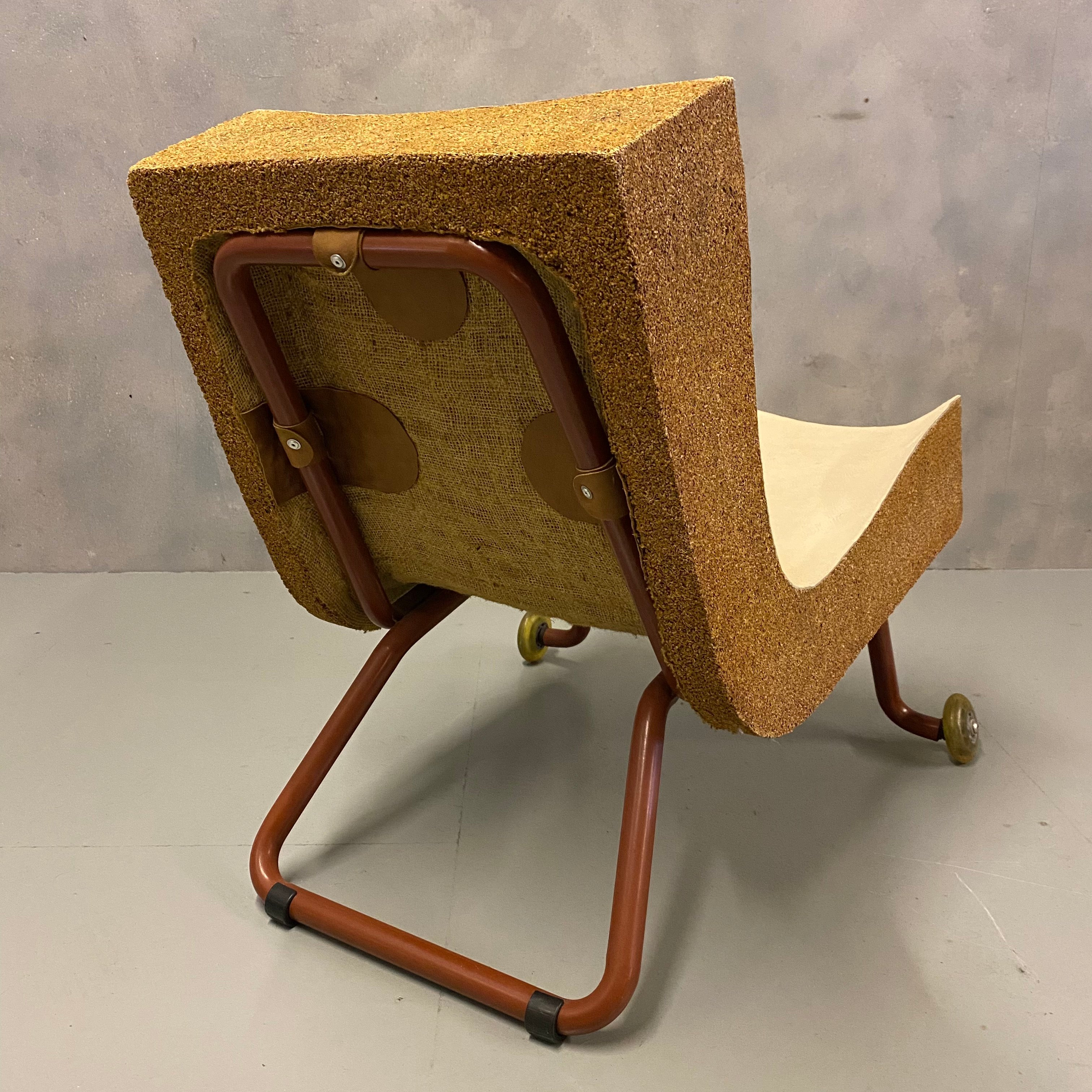 Cork And Leather chair