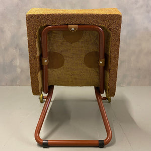 Steel framed midcentury Chair
