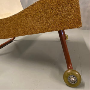 Midcentury Chair Castors