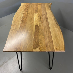 Acacia Dining Table Vintage