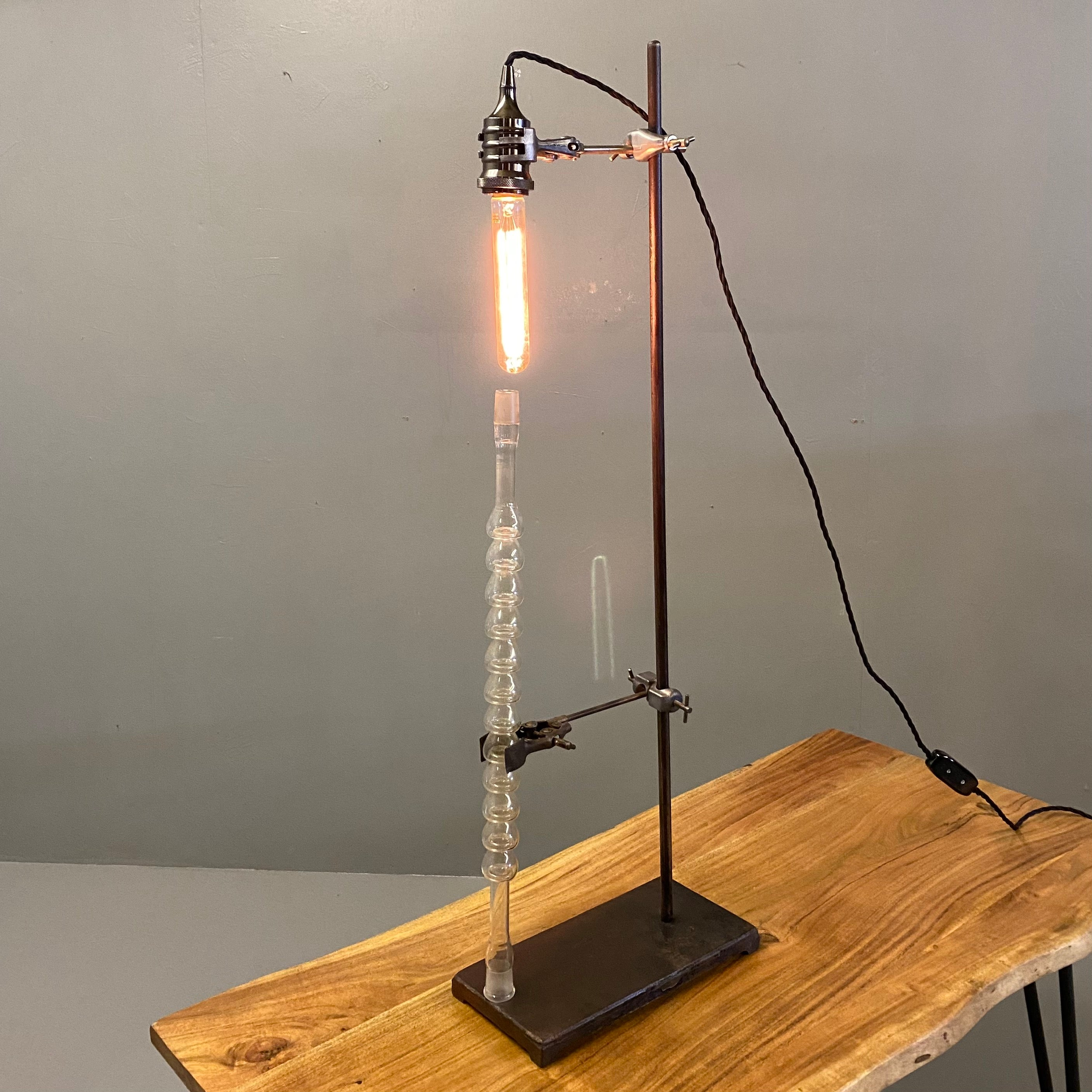 Industrial Lamp Chemistry Flask #3