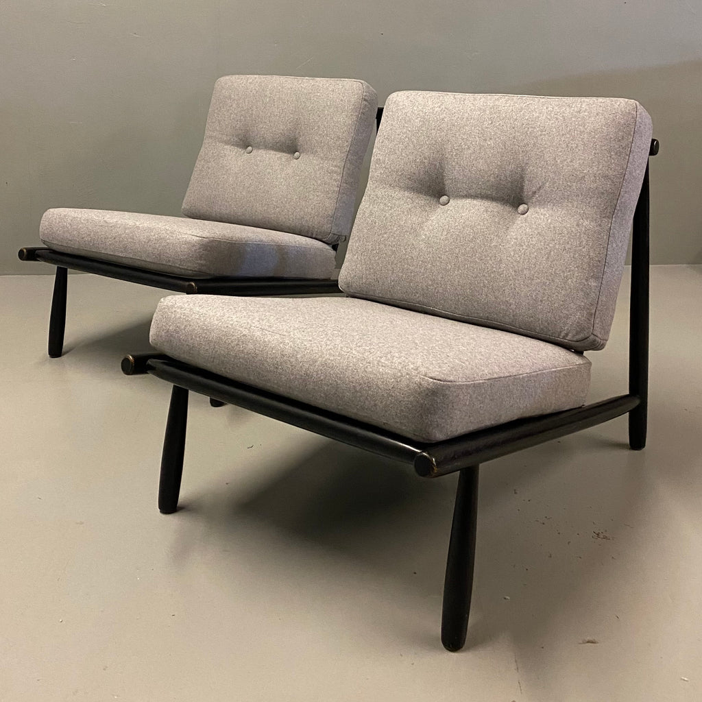 Swedish Lounge Chair Alf Svensson Midcentury
