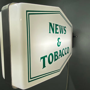 News And Tobacco Signage