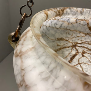 Art Deco Alabaster Light Shade