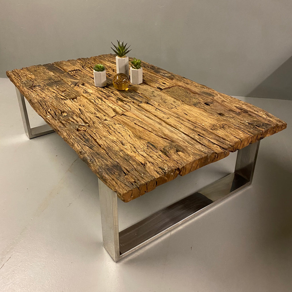 Coffee Table Contemporary Industrial