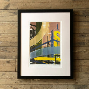 Artist Dale Kerrigan Limited Edition Print Framed no 1