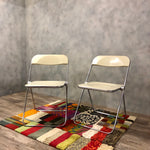 Load image into Gallery viewer, Castelli set of 2 folding chairs