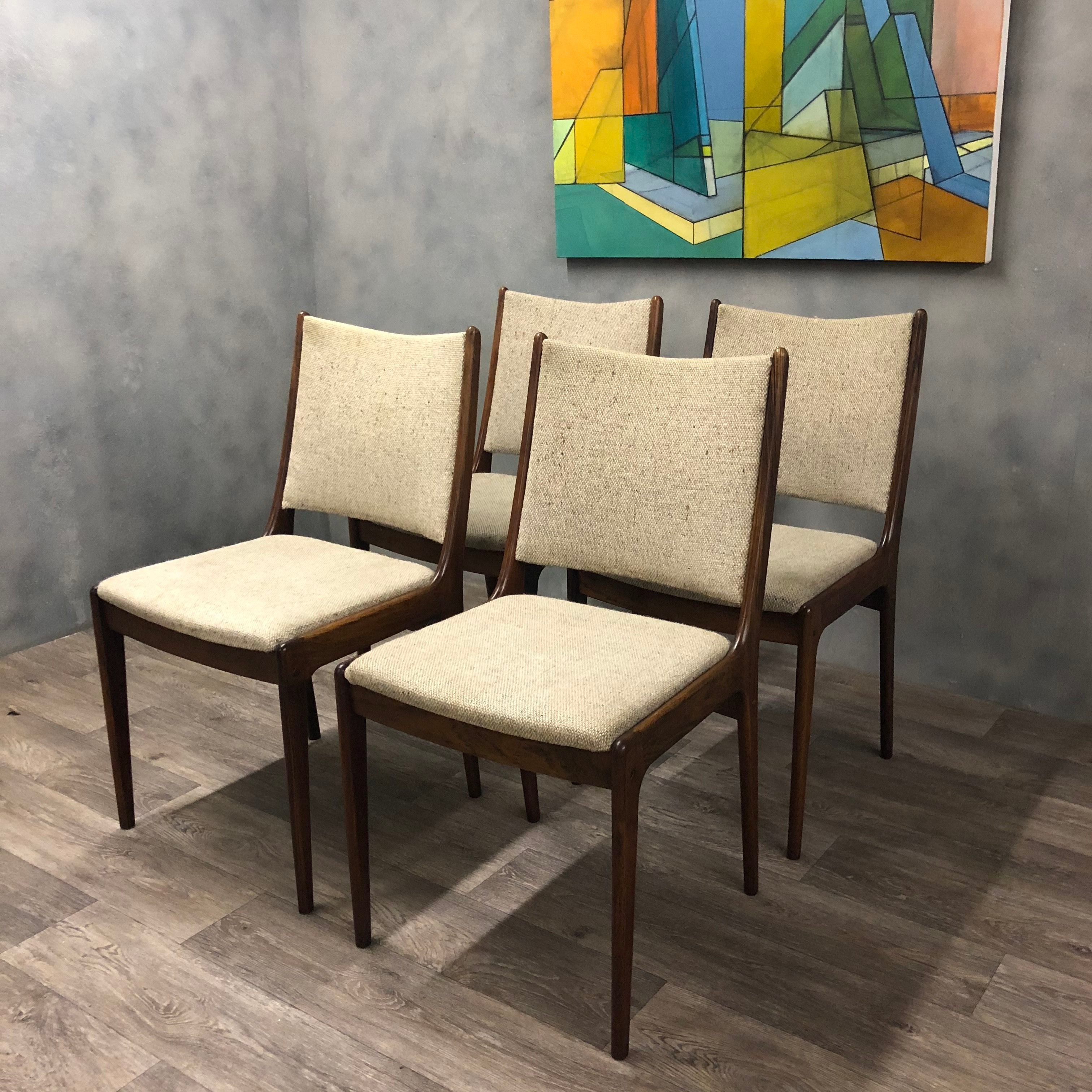 Danish Johannes Anderson dining chairs