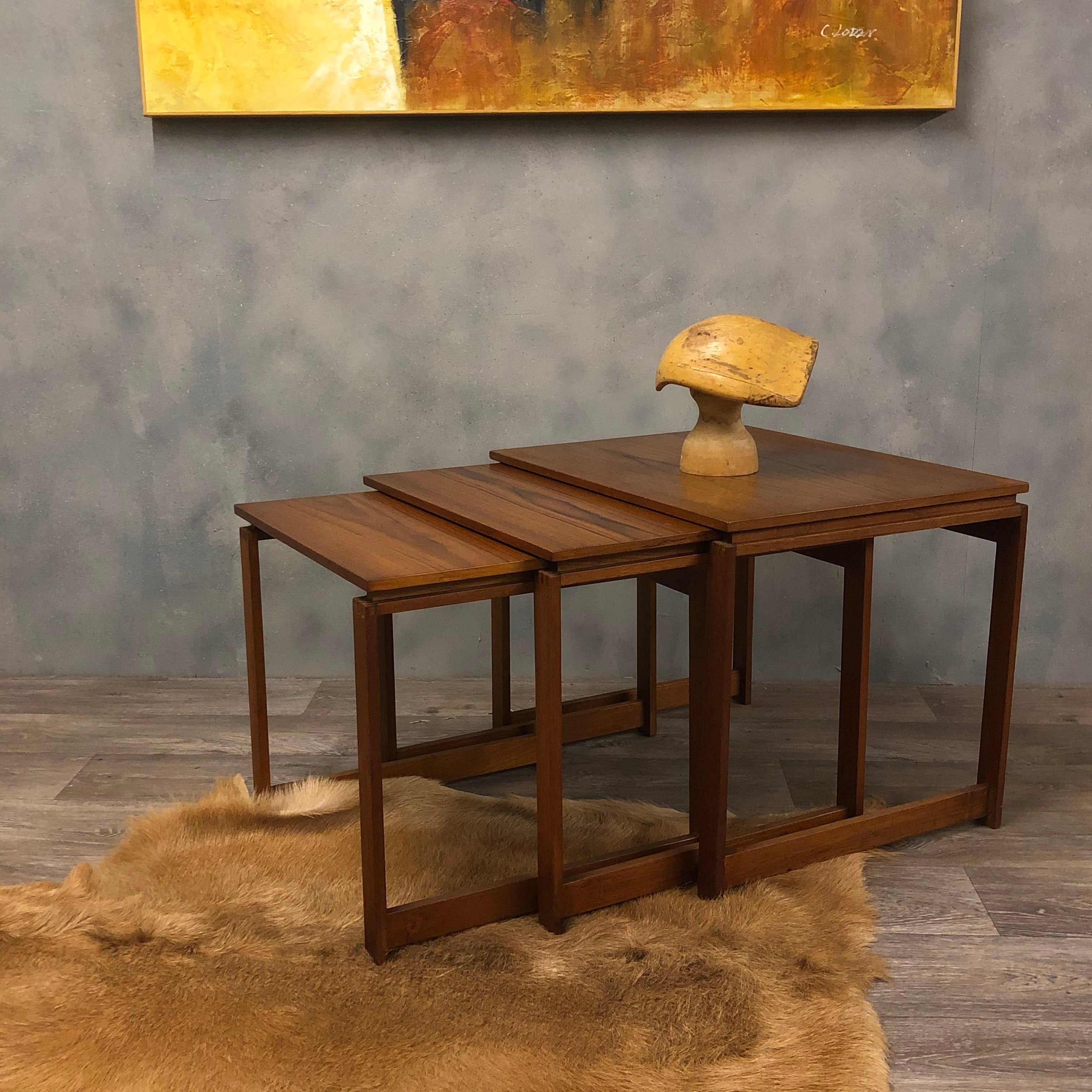 Danish Nanna Ditzel nest of tables