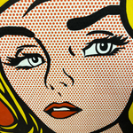 Load image into Gallery viewer, pop art lips