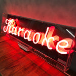 Load image into Gallery viewer, Fabulous vintage neon 'Karaoke' signage