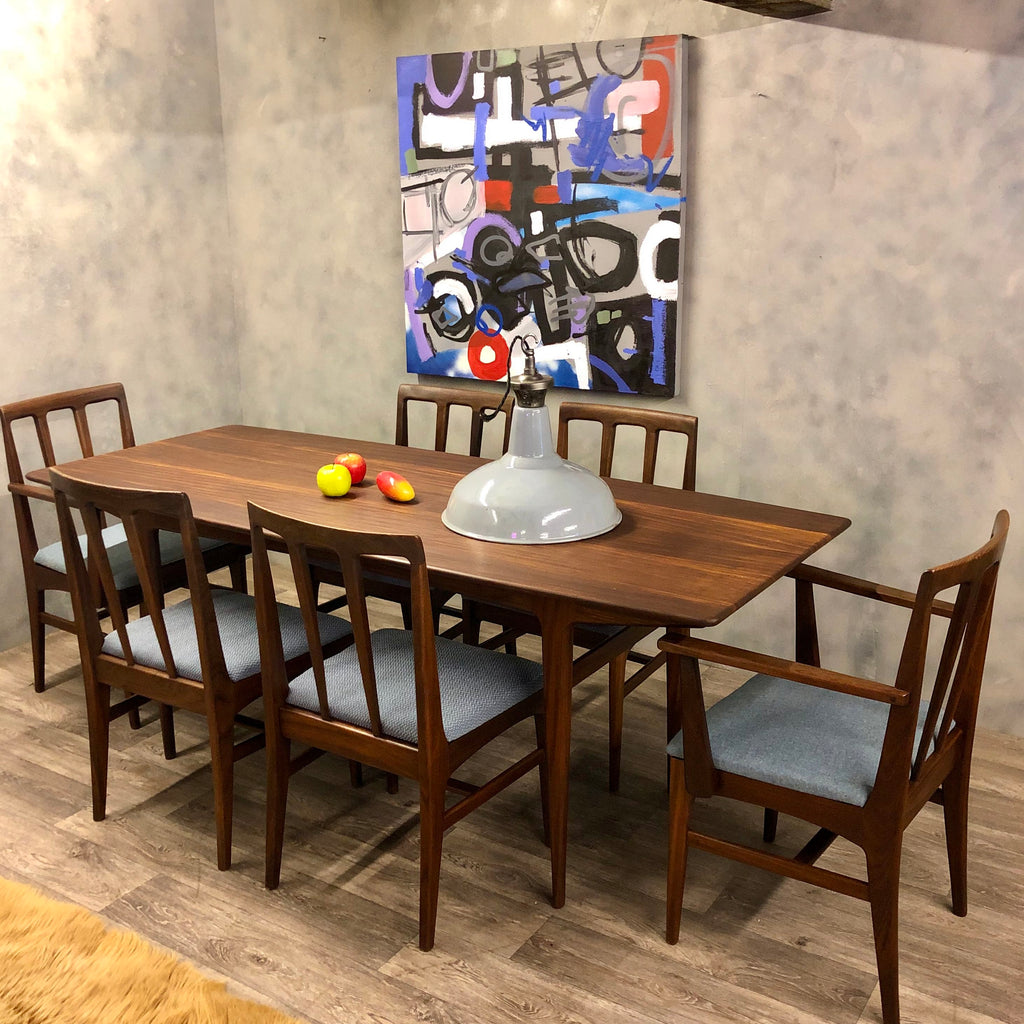 Midcentury A Younger Afromosia dining table