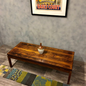 Midcentury Rosewood coffee table