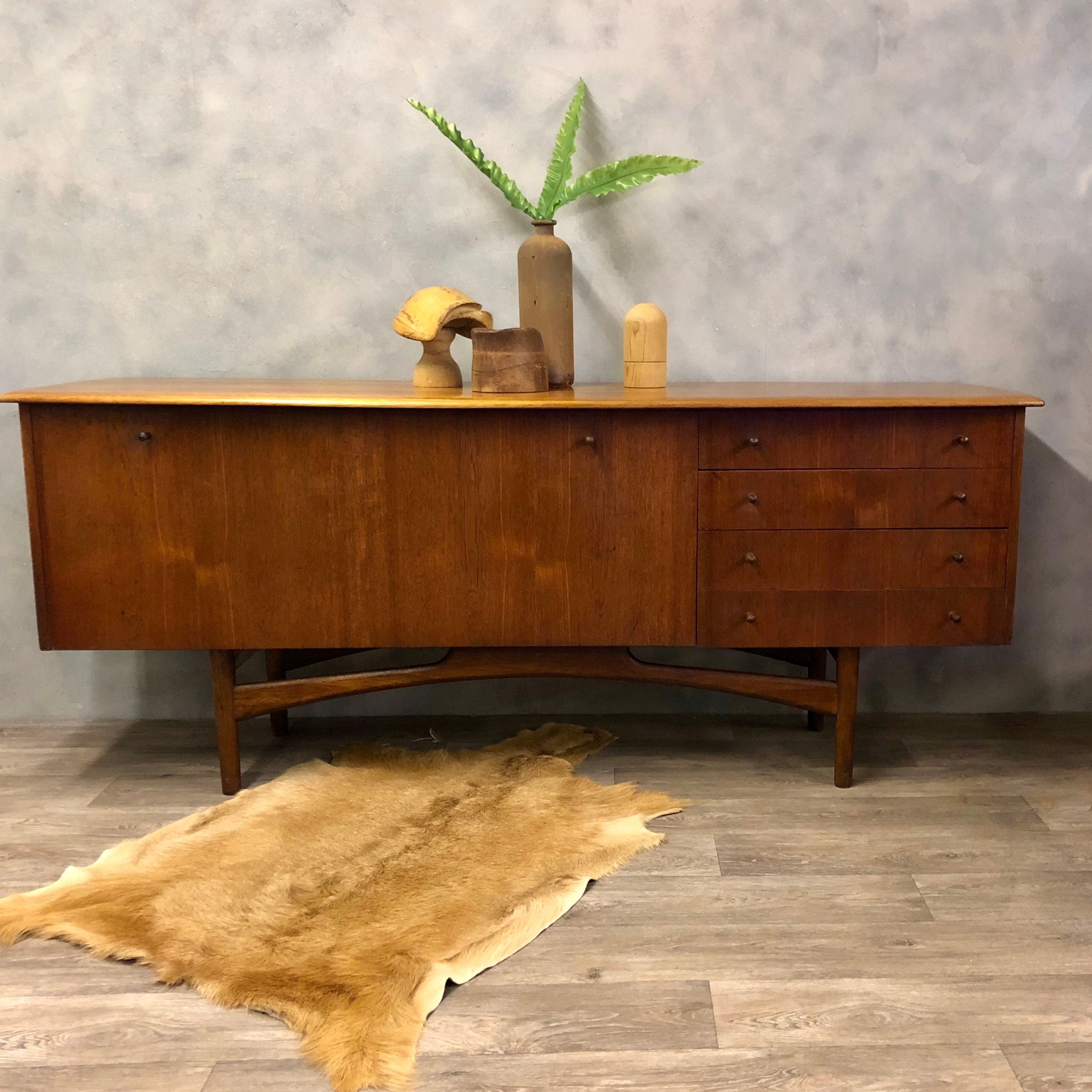 Midcentury Teak and Afromosia sideboard by Dalescraft