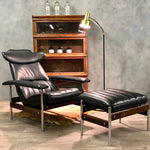 Load image into Gallery viewer, Norwegian Sven Ivar Dysthe chair and ottoman Midcentury