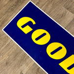 Load image into Gallery viewer, Original aluminium sign 'GOOD YEAR'