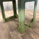 Load image into Gallery viewer, Reclaimed dining table with industrial legs