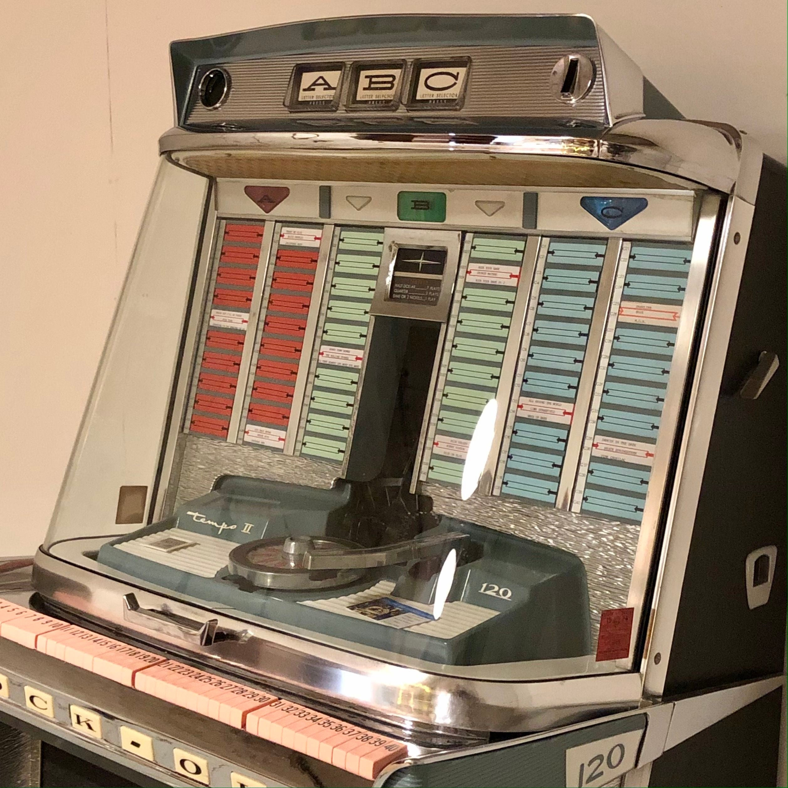 Rockola tempo 2 jukebox 1960
