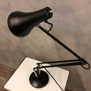 Vintage Anglepoise model 90 in black