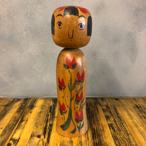 Vintage Japanese Kokeshi doll #009 MEDIUM*