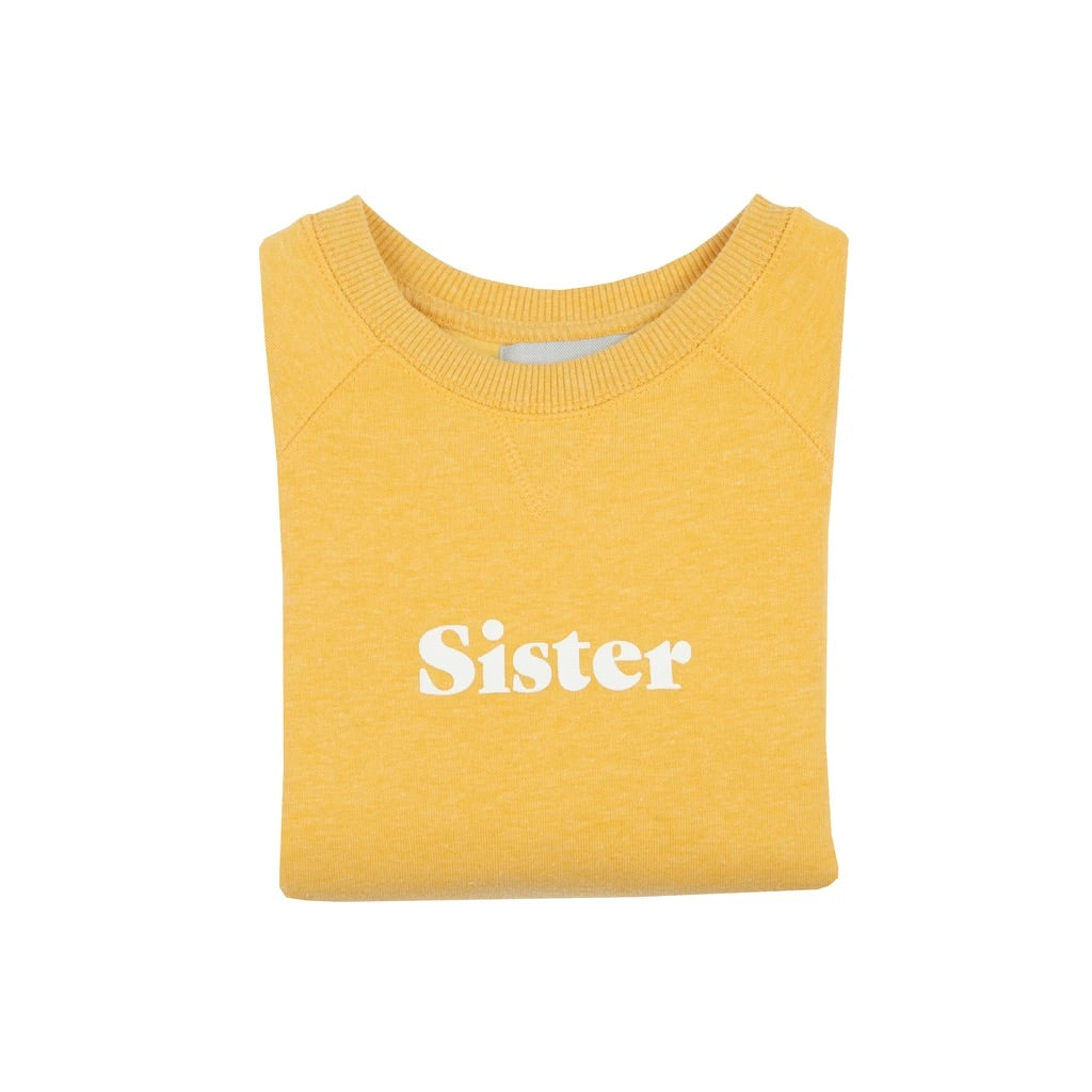 Sister Sweatshirt Yellow