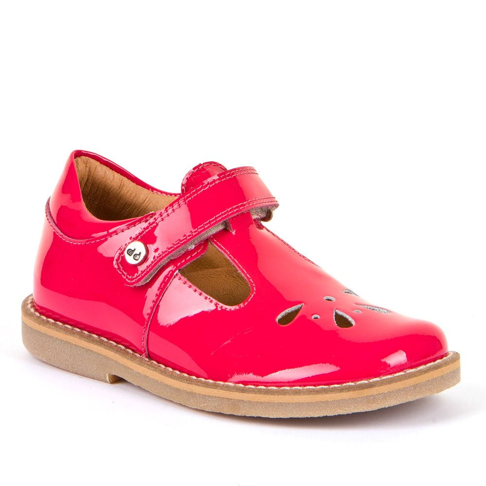Evia T-Bar Shoes Fuschia