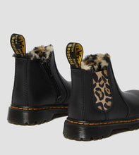 Load image into Gallery viewer, TODDLER 2976 LEOPARD FAUX FUR CHELSEA BOOTS