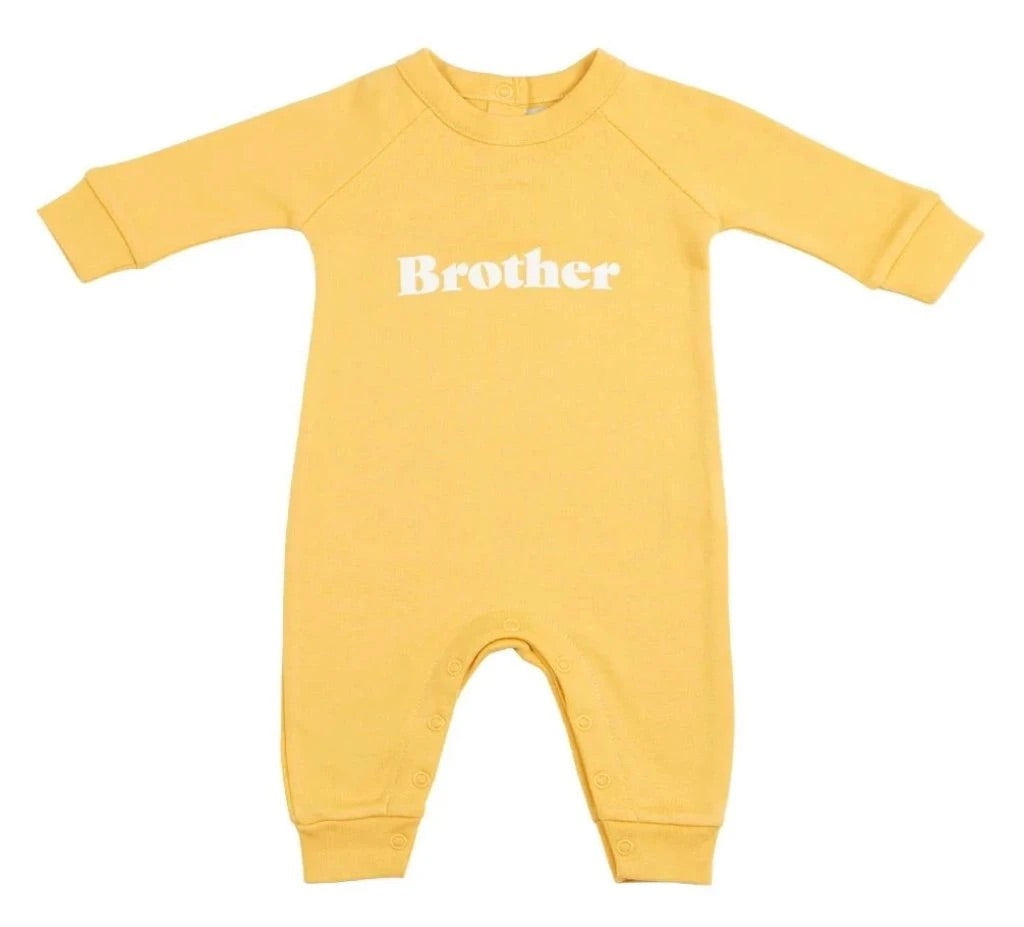 Brother Babygrow Yellow