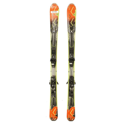 Used K2 A.M.P. Impact Skis with Salomon L10 Bindings C