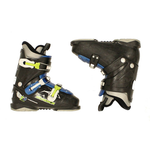 Used 2014 Nordica Fire Arrow Team 3 Kids Youth Size Ski Boots