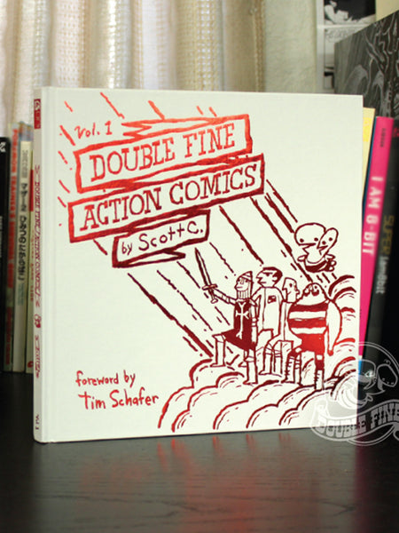 Double Fine Action Comics: Volume 1 (hardcover)